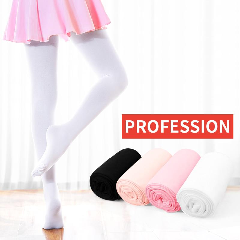 Tights Strong Stretch Soft Microfiber Socks Dance Leggings