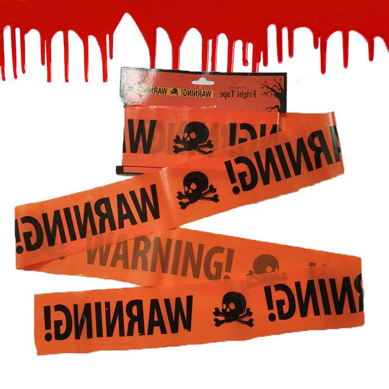 Halloween Scene Warning Isolation Tape