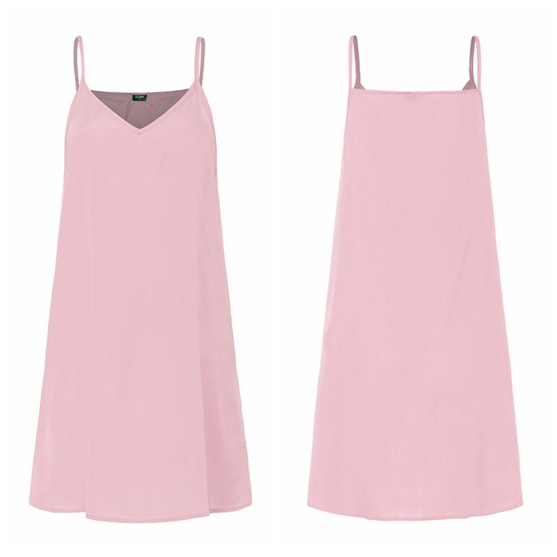 Bottoming Tank Sleeveless Dress