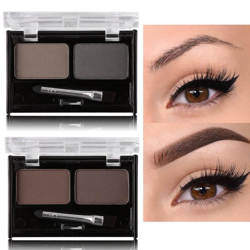 Double Color Eyebrow Powder Makeup Palette