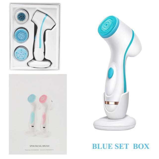 Electric Spa Skin Care Cleansing Massager