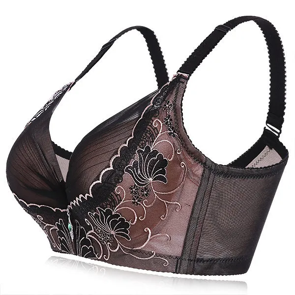 Full Cup Underwire Lace-trim Push Up Bras