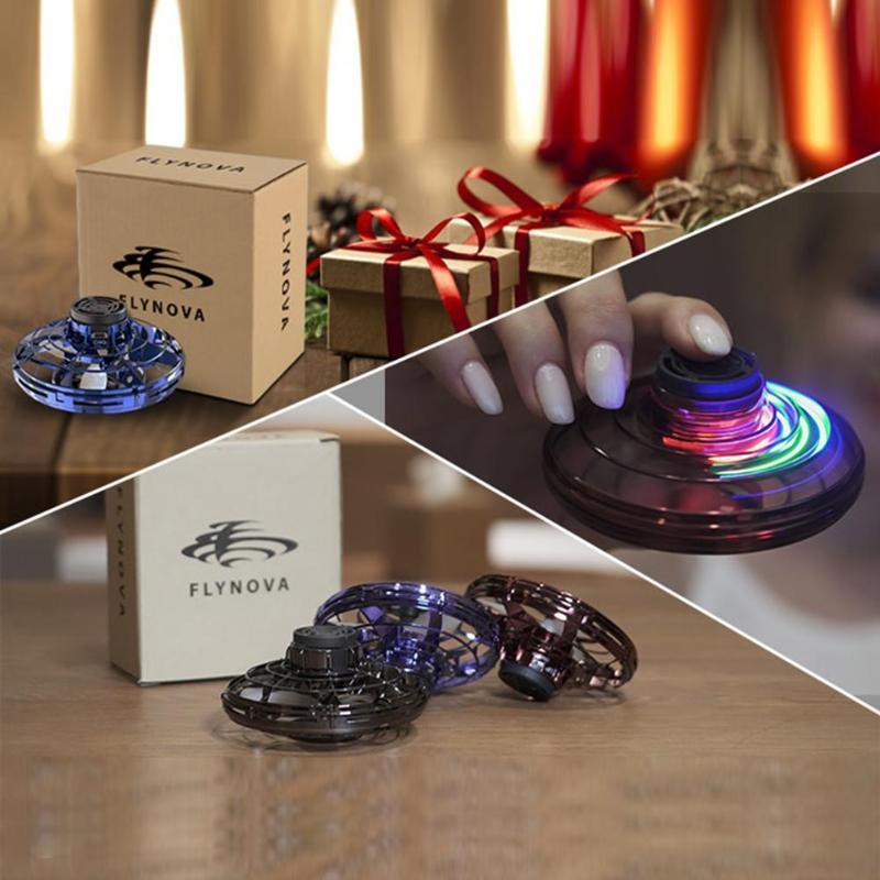 Mini RC Drone UFO Sensor Flying Gyro Kids Lighting Induction Aircraft Toys Lighting Fly Ball Smart Pocket Induction Dropshipping
