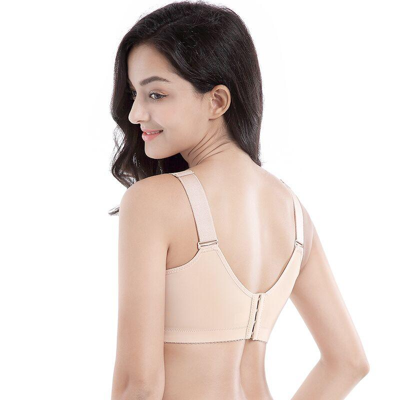Breathable Thin Section Without Rim Adjustable Bra