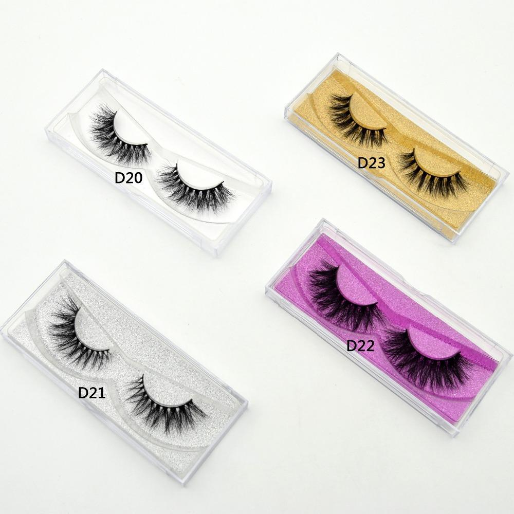 Mink Eyelashes Handmade False Lashes