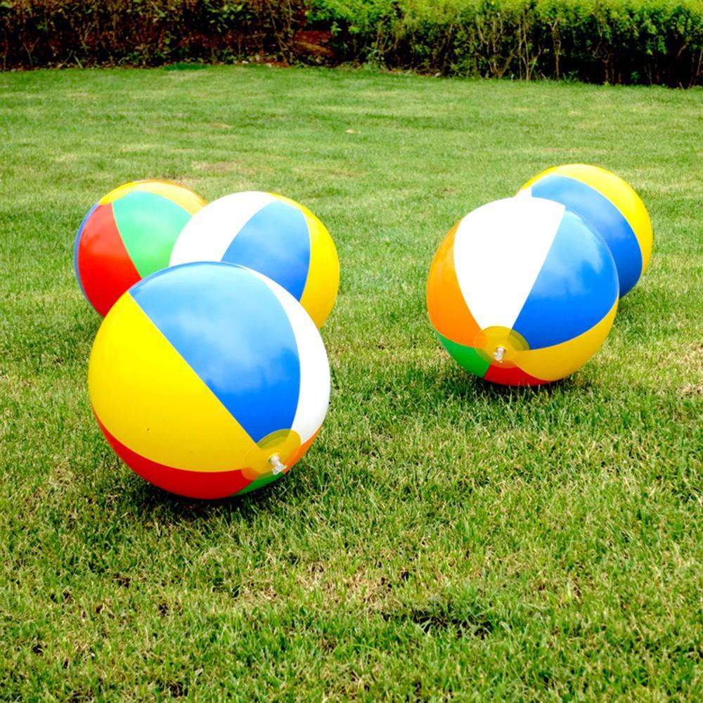 PVC Water Balloons Rainbow-Color Balls