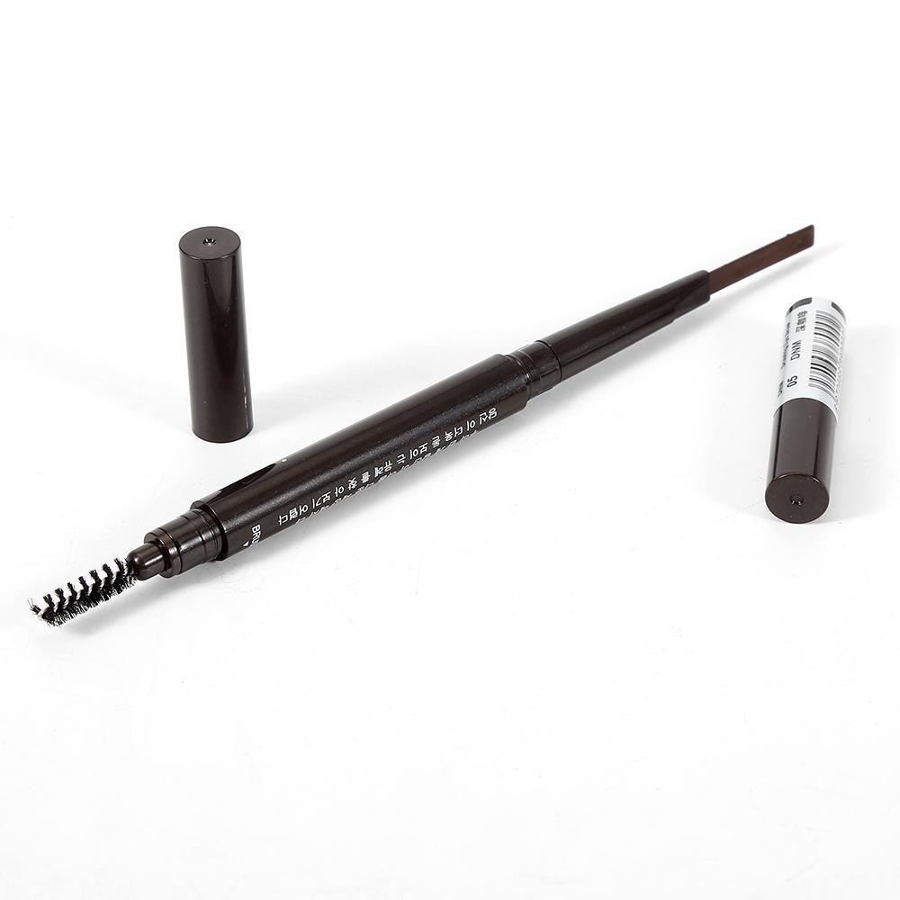 New 5-color Rotating Eyebrow Pencil Natural Waterproof