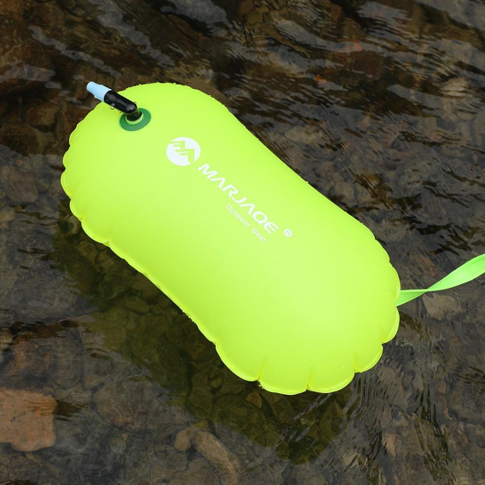 Thickened Swimming Buoy Single PVC Airbag Swimming Lifebuoy Buoy Waterproof Inflatable Swimming Drifting Bag