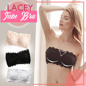 Lacey Tube Bra (3color)