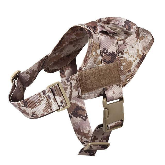 Military Tactical Dog Harness Patrol K9 Working Pet Collar Small Large Dog Harness Service Dog Vest With Handle Pet Products