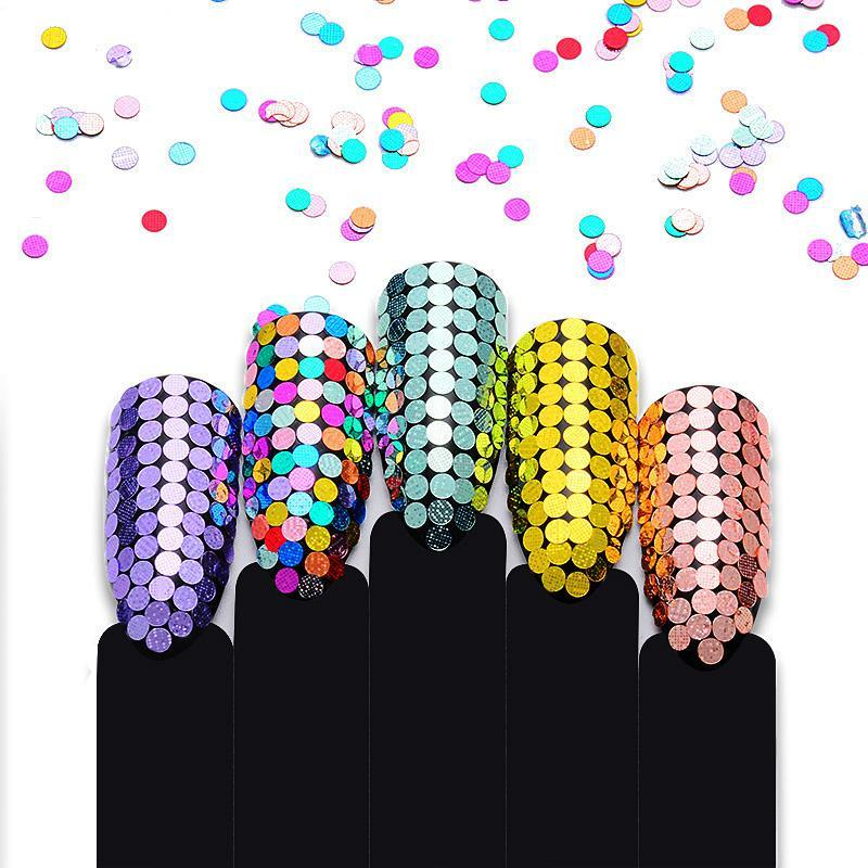 Colorful Nail Sequins