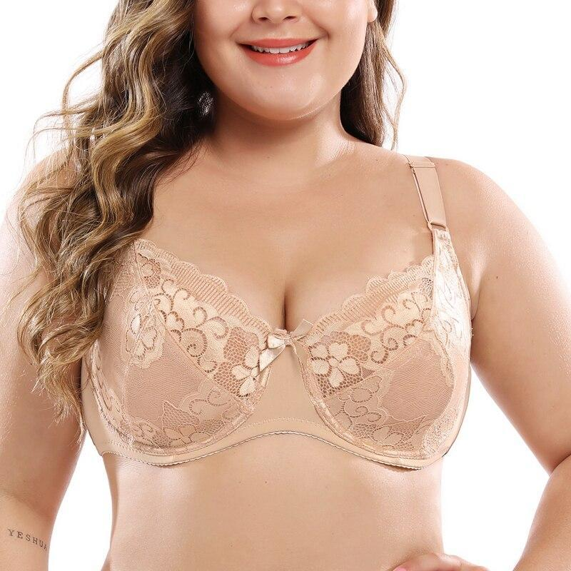 Plus Size Lace Bra