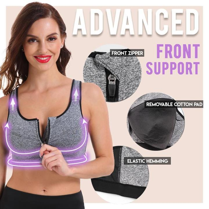 WireFree Fitness Comfort Bra-7Color