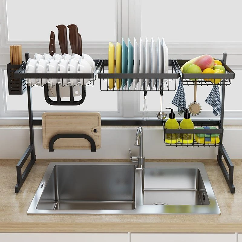 Modern Decor 2 Tier Dish Rack