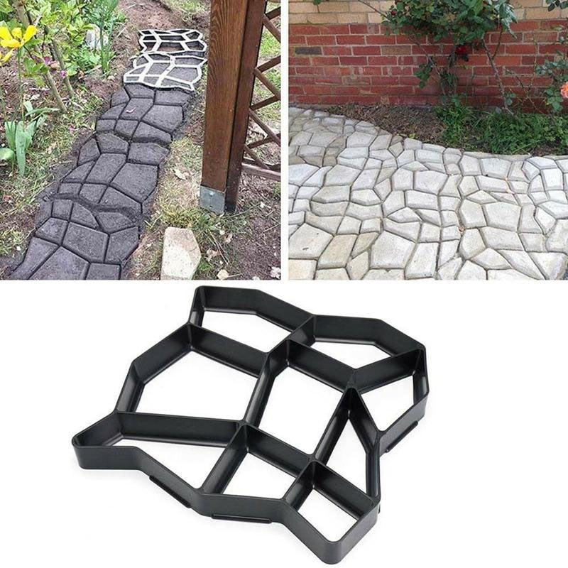 Stepping Stone Cement Concrete Brick Mould Road Paving Molds