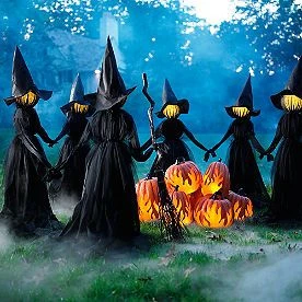 🔥🔥🔥Visiting Light-Up Witches with Stakes-Set of 3(2 ets Free Shipping)