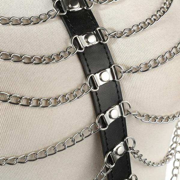 Goth Chain Harness
