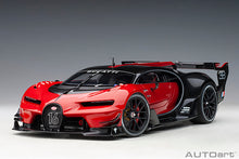 Load image into Gallery viewer, BUGATTI VISION GRAN TURISMO (RED/BLACK CARBON)