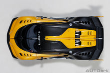 Load image into Gallery viewer, Bugatti Vision Gran Turismo (Giallo Midas/Black Carbon)