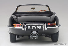 Load image into Gallery viewer, JAGUAR E-TYPE ROADSTER SERIES I 3.8 (BLACK)(WITH METAL WIRE-SPOKE WHEELS)
