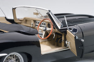 JAGUAR E-TYPE ROADSTER SERIES I 3.8 (BLACK)(WITH METAL WIRE-SPOKE WHEELS)