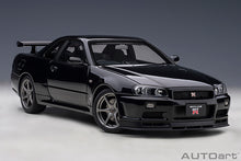 Load image into Gallery viewer, PRE-ORDER.....NISSAN SKYLINE GT-R (R34) V-SPEC II (BLACK PEARL)