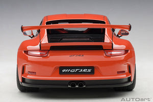 PORSCHE 911(991) GT3 RS (LAVA ORANGE/DARK GREY WHEELS)