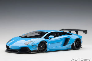 LIBERTY WALK LB-WORKS LAMBORGHINI AVENTADOR (METALLIC SKY BLUE)