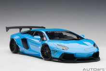 Load image into Gallery viewer, LIBERTY WALK LB-WORKS LAMBORGHINI AVENTADOR (METALLIC SKY BLUE)