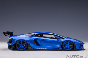PRE-ORDER...LIBERTY WALK LB-WORKS LAMBORGHINI AVENTADOR LIMITED EDITION (HYPER BLUE)