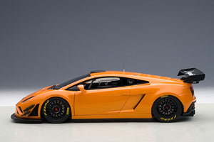 LAMBORGHINI GALLARDO GT3 FL2 2013(METALLIC ORANGE)(2 DOOR OPENINGS)