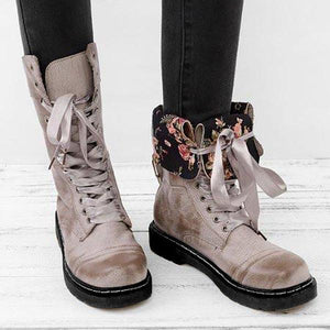 Fashion Women Leather Long Boots