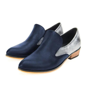 Color Block Flat Round Toe Casual Date Outdoor Comfort Flats
