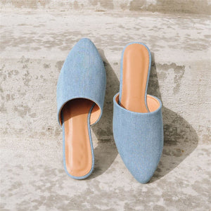 Fashion Wild   Casual Point Flat Shoes