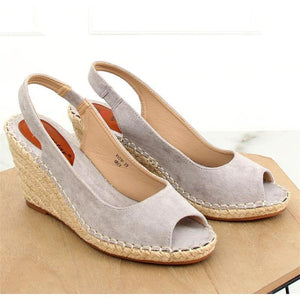 Fashion Wild Wedge With Fish Mouth Female Sandals