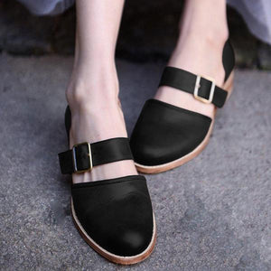 Comfortable Flat Large Size Women's Sandals