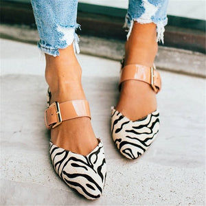 Women's Simple Buckle Casual High Heels