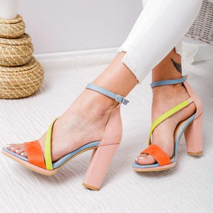 High Heel Fish Mouth High Heels Sandals