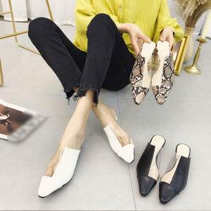 Fashion Exposed Heel Square Toe Transparent Crystal Sandals