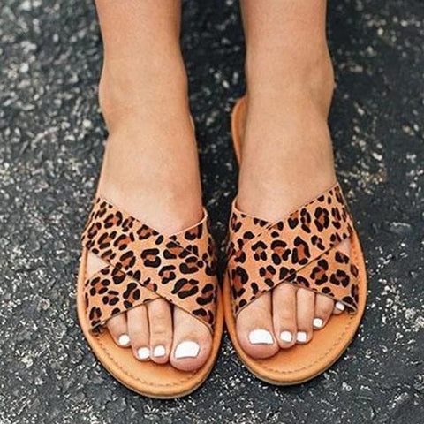 Fashion Comfortable Versatile Flat Slippers