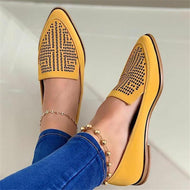 Comfortable And Breathable Flat-Bottomed Pointed Flat Shoes