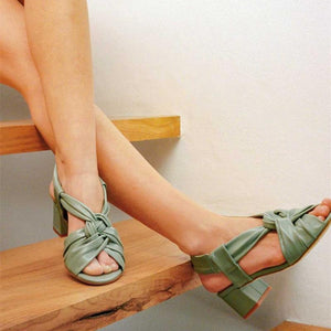 Comfortable Open-Toe Heels