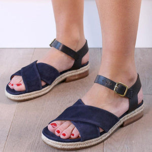 Fashion Suede Flat Casual Sandals