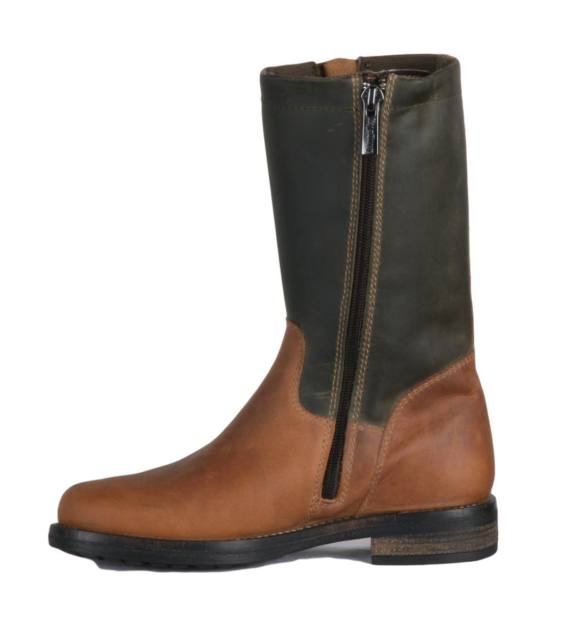 Oslo Outdoor Boot - Gaucho Brown & Green