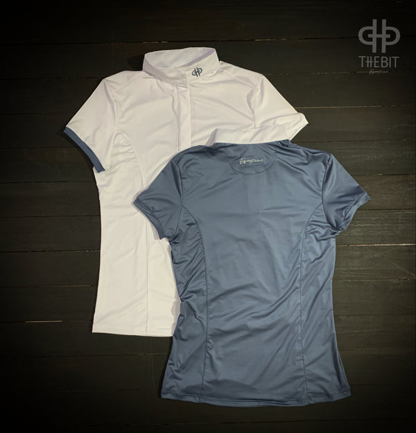 The Bit Equestrian Short Sleeve Show Shirt