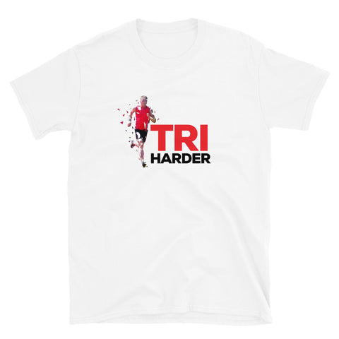 Short-Sleeve Unisex T-Shirt - TRI Harder