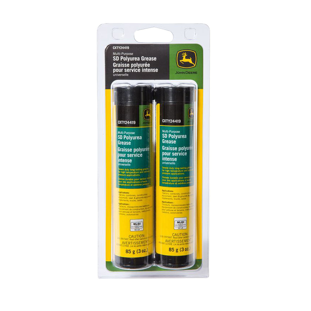 Multi-Purpose SD Polyurea Grease 3-oz Cartridge Twin Pack