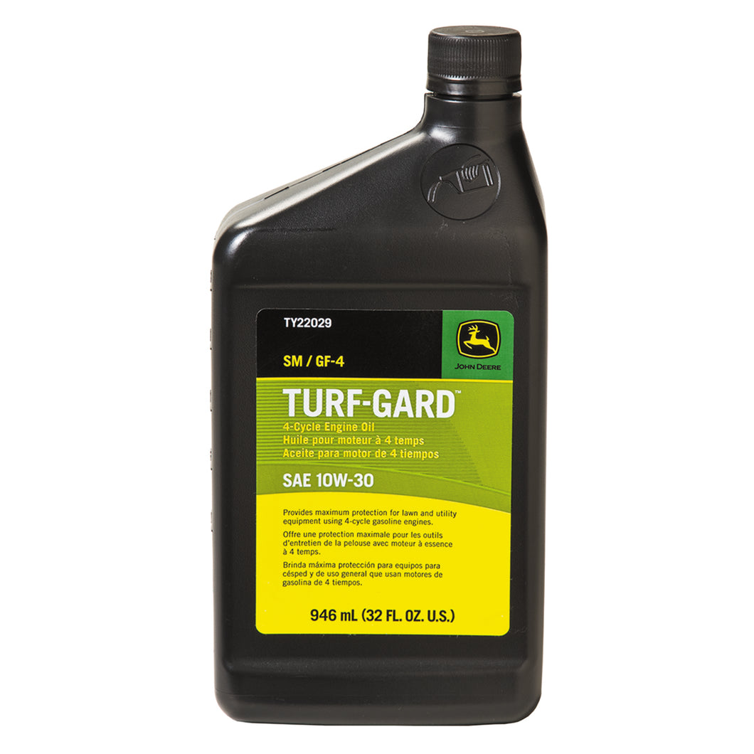 John Deere Turf-Gard 10W-30 Engine Oil (1 Quart)