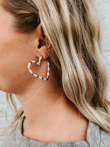 Love It Or Leave It Earring