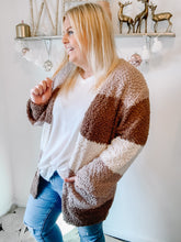 Load image into Gallery viewer, Hot Cocoa, Please Popcorn Cardigan in All Sizes